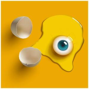 Egg eye by Adnrey/DeviantArt